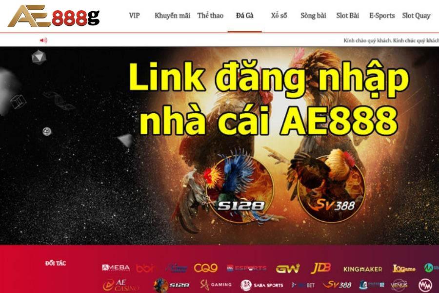 Link đăng nhập nhà cái AE888